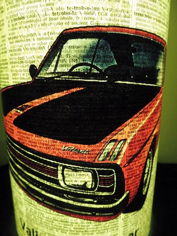 book club gifts motorsport Valiant Pacer Car Lantern No.614 man cave lanterns