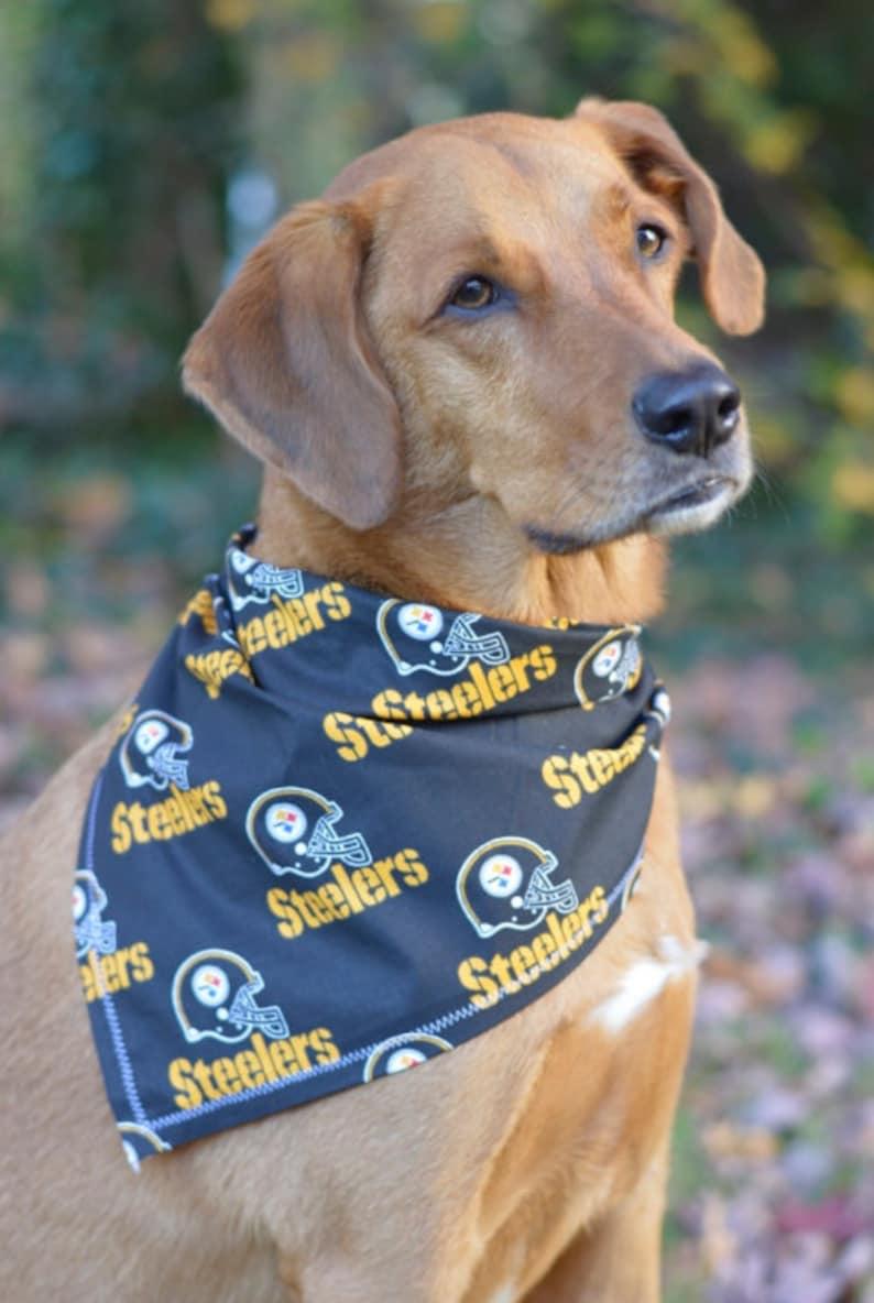 X-Large Pittsburgh Steelers Dog Bandana