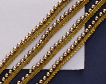 Piping Cord on Tape ANTIQUE GOLD