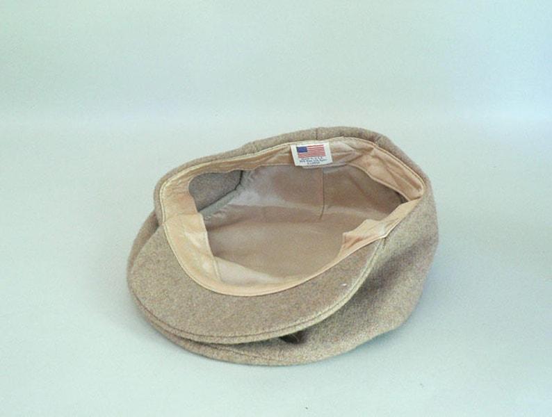 Wool Newsboy Cap Size Extra Large