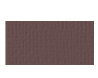 "American Crafts Weave Textured Cardstock 12""x12"" - COFFEE"