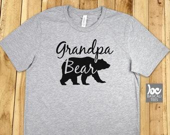 Grandpa Shirt,GRANDPA BEAR SHiRT,Grandpa T-Shirt,for Grandpa,Gift for him,Father,Bear Shirt,Grandfather,Gpa,Grandpa