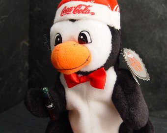 00b09ecf5ad COCA-COLA Beanie Baby Plush-Nwt. Collectable 1997 CHRISTMAS Penguin Coke  Bottle