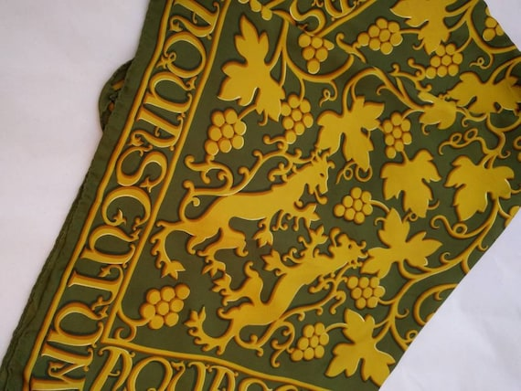 Vintage Silk scarf - Aquascutum - London - silk sc