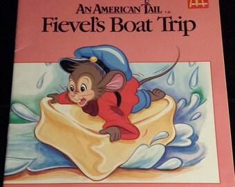 Vintage 1986 An American Tail: Viaje de Fievel, libros de McDonalds