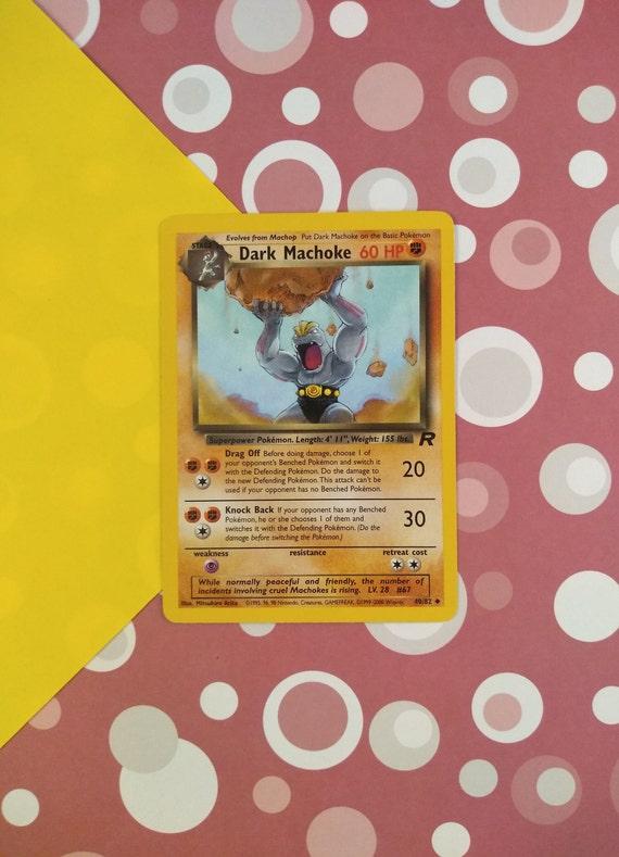Pokemon Team Rocket Uncommon Card #39//82 Dark Kadabra