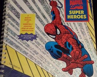 Vintage 1995 Klutz Draw the Marvel Comics Super Heroes, Unused