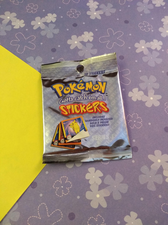 Pokemon Stickers Series 1 One Box Artbox 30 Packs HTF