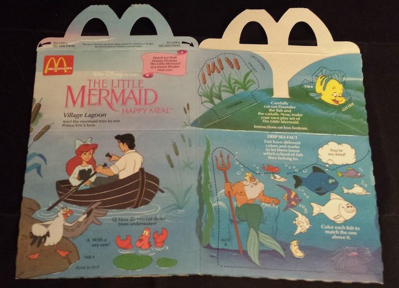 Unused Box 2 Different Vintage McDonalds Happy Meal E.T