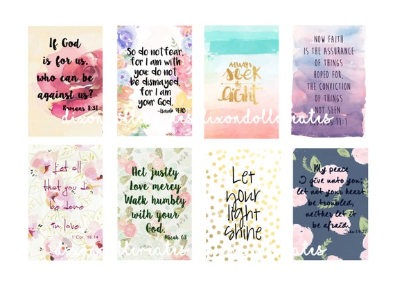 bible scripture planner stickers happy planner stickers etsy