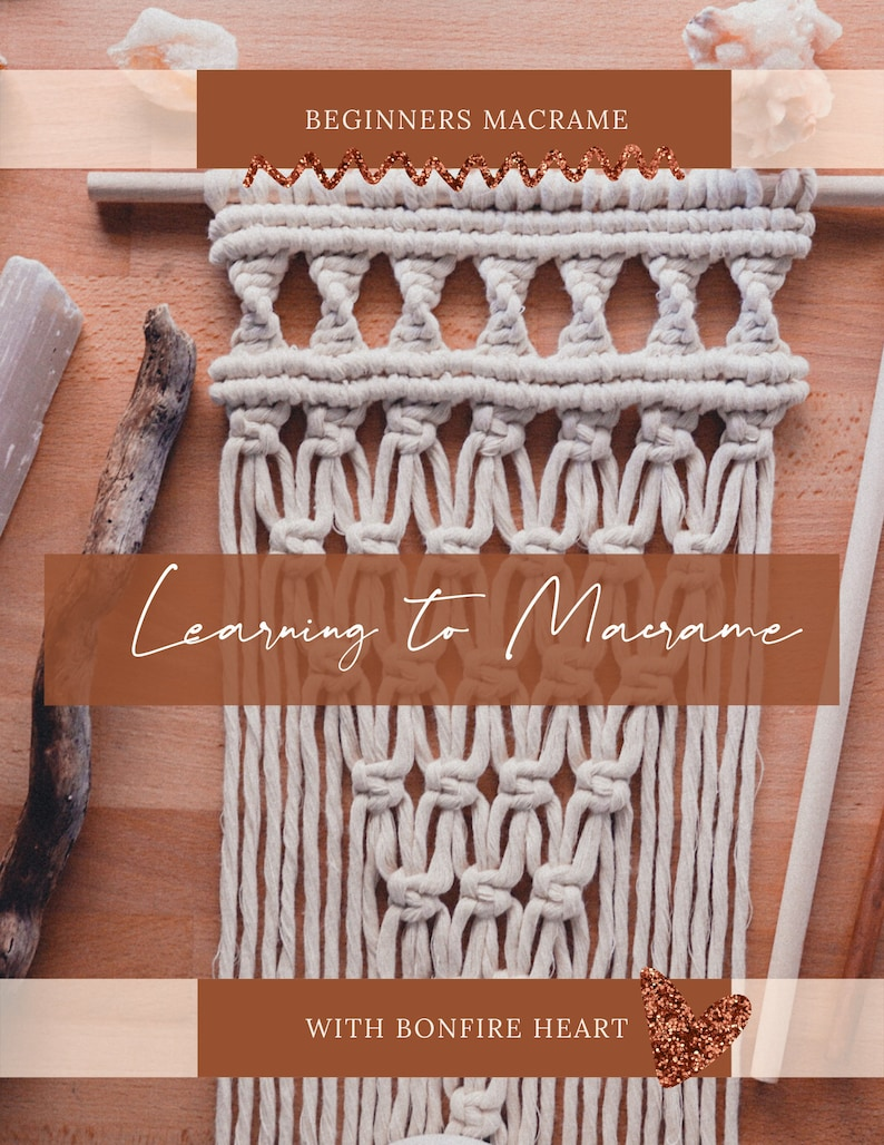 Learning to Macrame : Beginners Course image 0