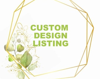 Custom design necklace or G.