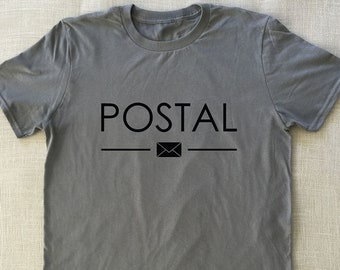 434c9d261 Postal - T-Shirt Post Office Tee Mailman Tshirt Super Soft Tshirts Fun  Funny Tshirt Silly Sarcastic Tees Super Soft Tshirt Great Gift Tshirt