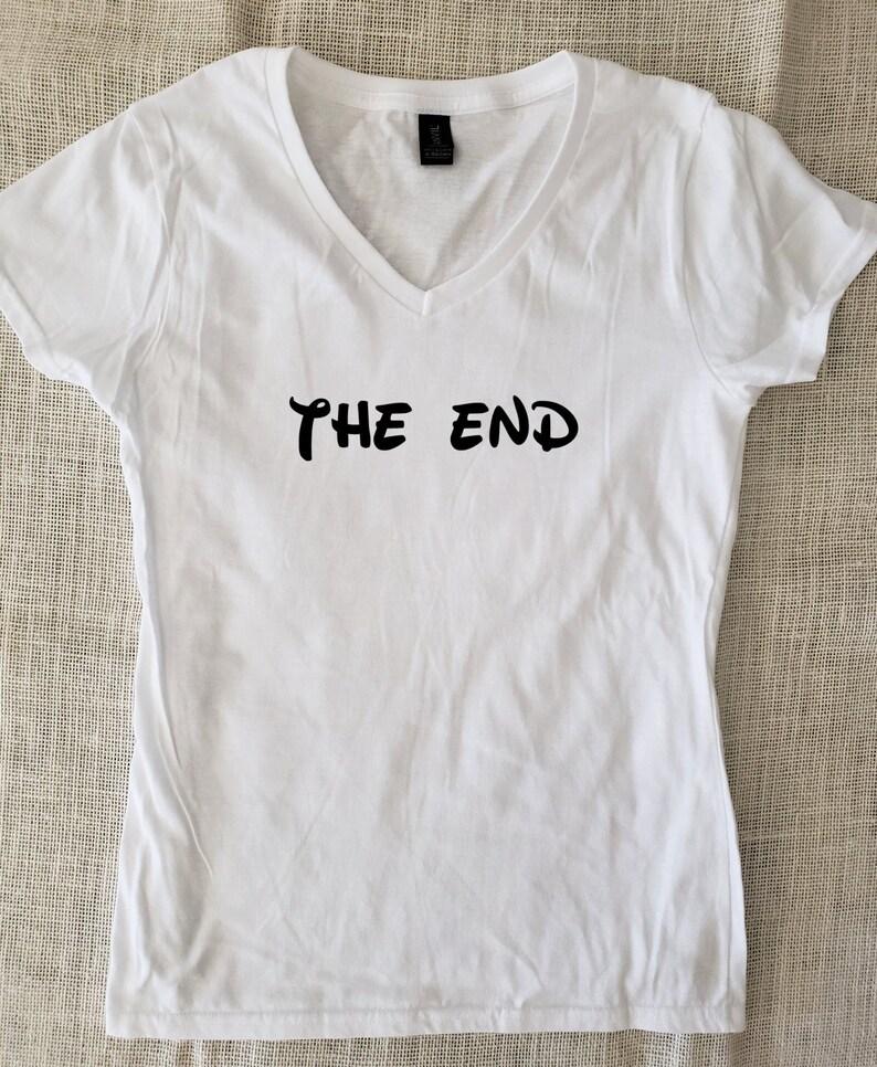 82876213f The End T-Shirt Unisex Disney Style Funny Sarcastic Tshirts   Etsy