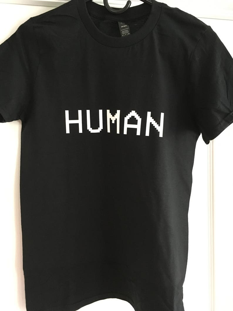 b6afd2d9f Human T-Shirt Punk Unisex Graphic Tee S M L XL Style Anarchy | Etsy