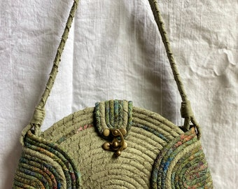 Meadow Coiled Rope Purse