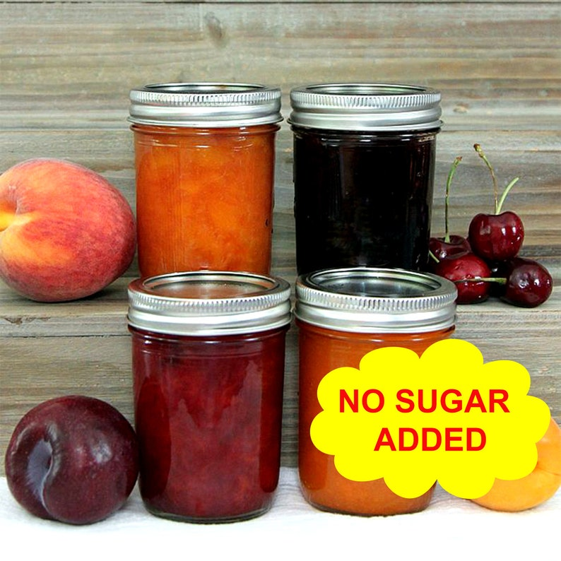 FRESH Home Made Jams All Natural Great For Gifts no sugar added  Just  natural fruit juice added for sweetener