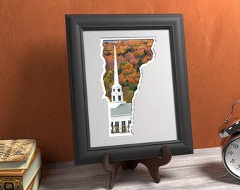 Vermont Photo Map