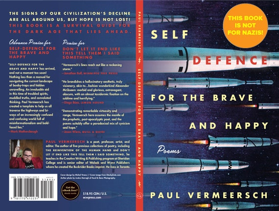 POETRY BOOK: Self-Defence for the Brave and Happy