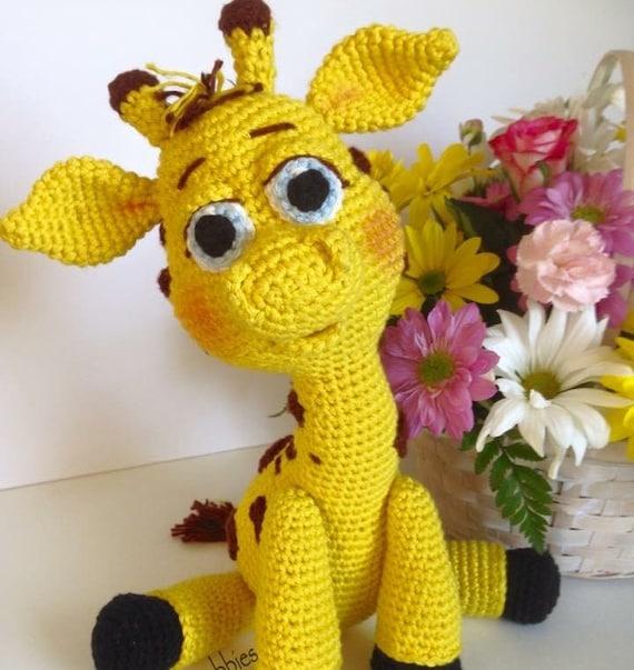 Crochet Pattern Paisley The Giraffe Etsy