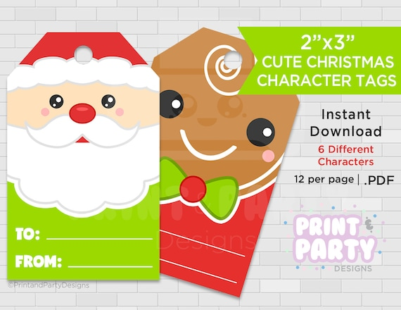 printable christmas gift tags holiday gift tags christmas