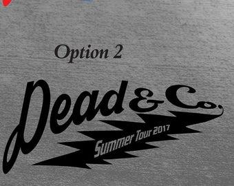 Dead & Co. Summer Tour 2017 Sports Logo