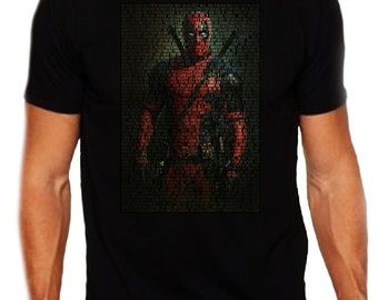 "Deadpool Quotes T-Shirt ""All Quotes Deadpool-From Deadpool The Movie"""