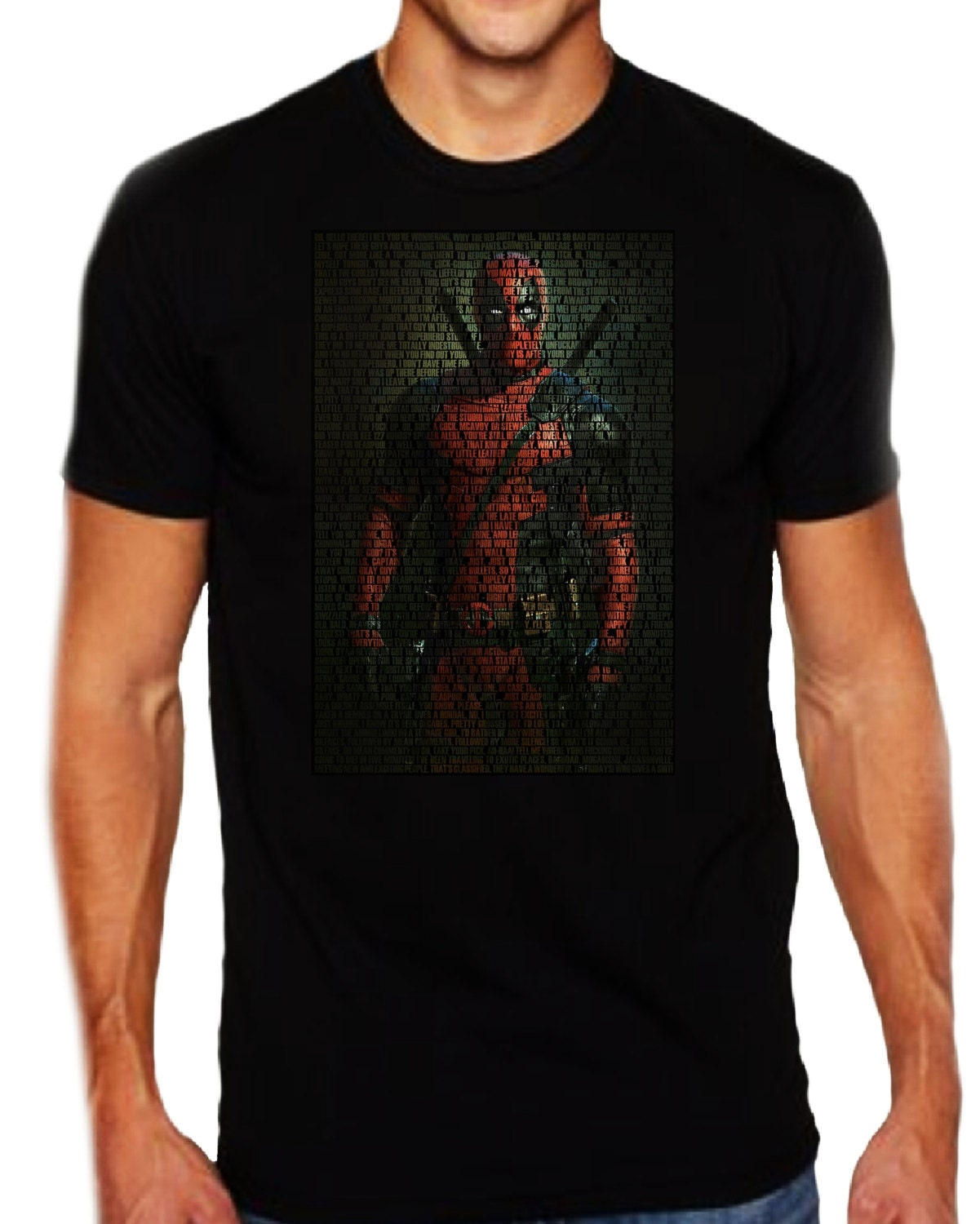 3f3f2017d68 Deadpool Quotes T-Shirt All Quotes Deadpool-From