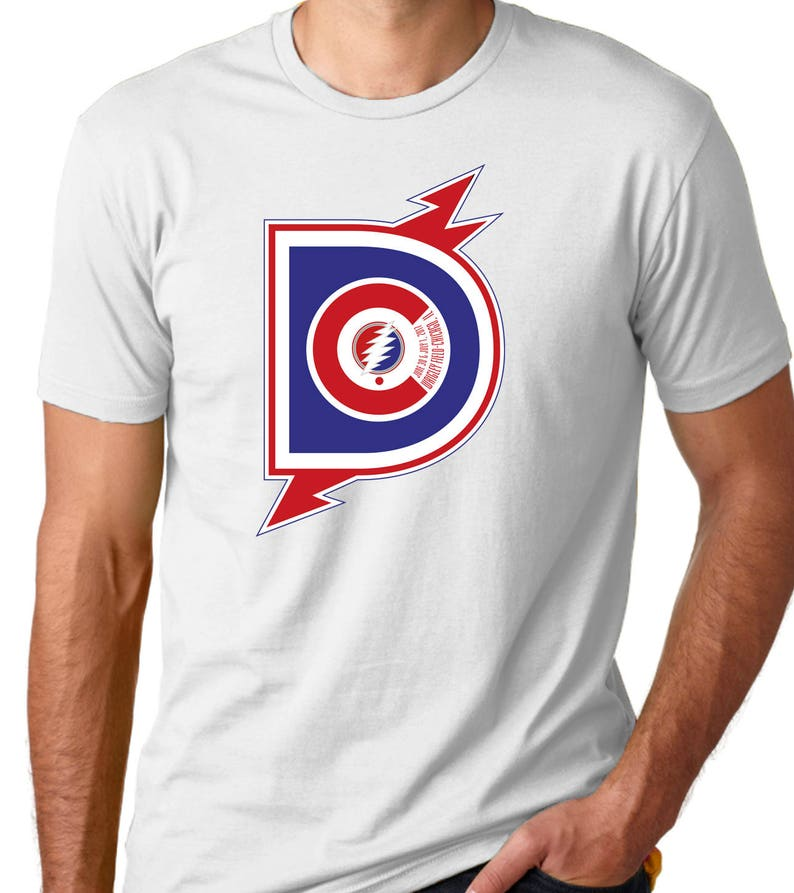 f5e353717c5 Dead   Co. Chicago Wrigley Field 2017 T-Shirt