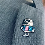 NEW! Dog Johnson - Soft enamel pin badge