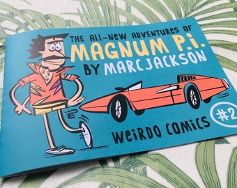 The all-new adventures of Magnum P.I. #2