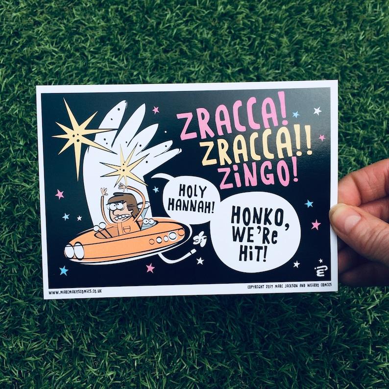 Zingo A6 Postcard image 0