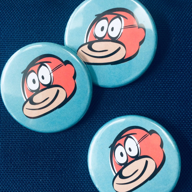 Ka-punch Pin Badge image 0