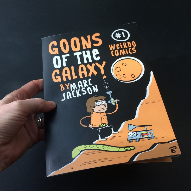 Goons of the Galaxy 1 Comic image 0