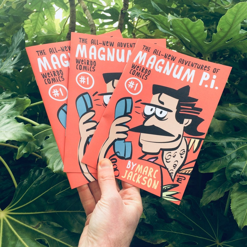 NEW The all-new adventures of Magnum P.I. image 0