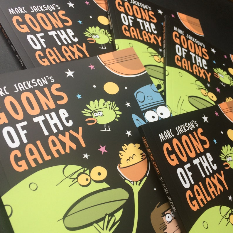 Goons of the Galaxy  Collected Edition image 0