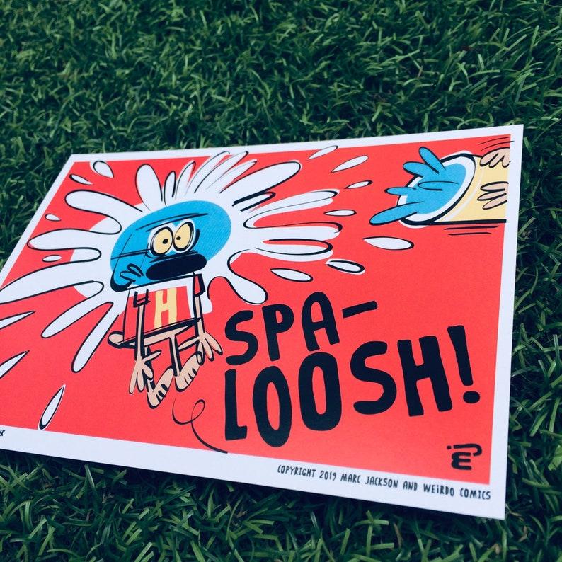 SPA-Loosh A6 Postcard image 0