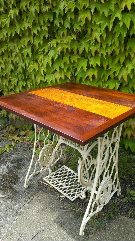 Vintage Beistelltisch Gartentisch Chatoyance Etsy