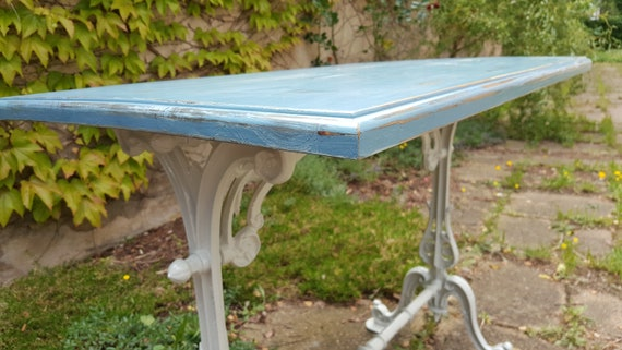 Romantischer Vintage Gartentisch Balkontisch Etsy