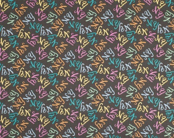 New York NY Logo Fabric By The Yard | State Pride | 100% Cotton | DIY Face Mask | NYC | Empire State | Fat Quarter | 1/4 | 1/2 Yard | 1 Yard