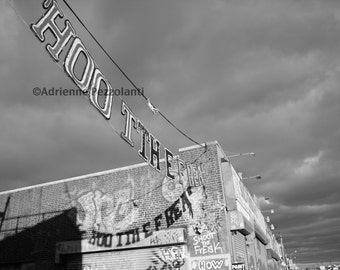 Brooklyn Shoot The Freak Game Luna Park Coney Island Beach Photography Black & White Photo Images New York NYC Photograph