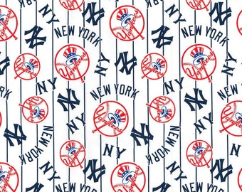 PREORDER Face Mask | NY Yankees | Baseball | New York  | 100% Cotton | Double Layer | Children's Mask | Adult Mask | Blue | White | Red