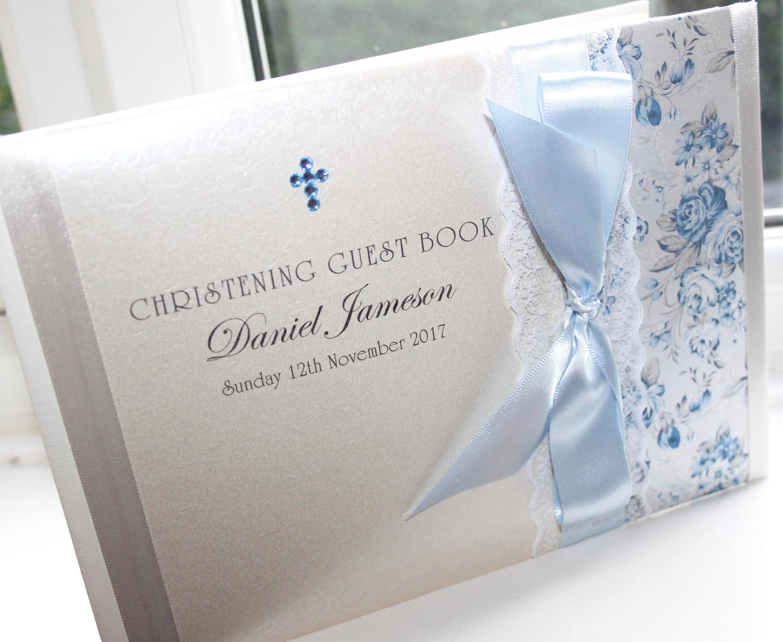 Charlotte Elisabeth GB005 Personalised Handmade Wedding Guest Book