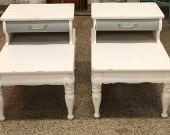 Vintage End Table Etsy