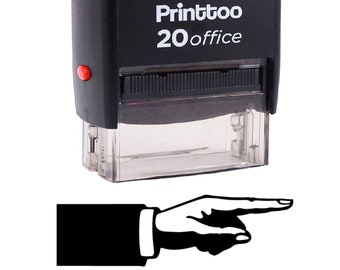 IPR4729-2 Office Stationery Self Inking Rubber Stamp Personalized Dater Stamp Desk Accessories Approved and Initial Text Rubber Stamp