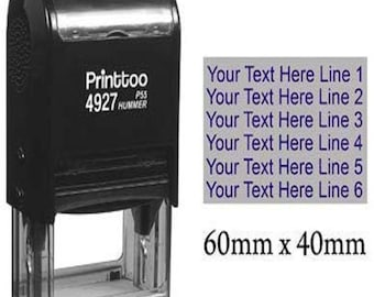 Heavy Duty Dater Stamp IPR5430-10 Entered Text Date Rubber Stamps Personalized Idea Office Stationery Stamper Self Inking Rubber Stamp