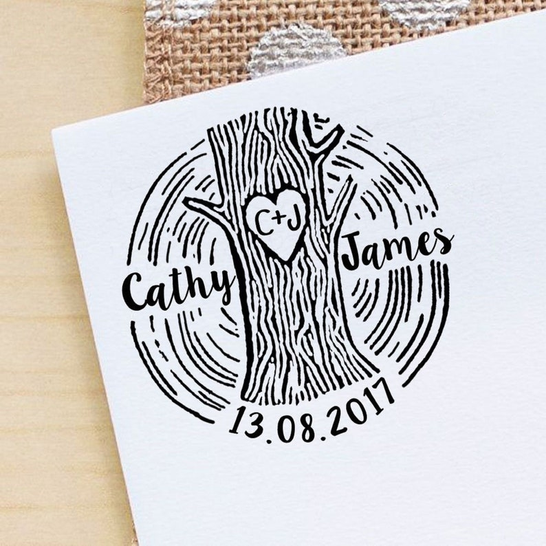 IPHS11A Wedding Invitation Rubber Stamp Custom Wedding Envelope Stamp Engagement Gift Save The Date Stamper Personalized Rubber Stamp