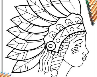 Lady Tomahawk 'The Tattoo Colouring Book'