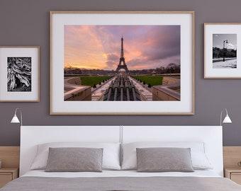 Eiffel Tower Print, Paris Photography, Limited Edition, France Wall Art, Paris Wall Decor, Paris Wall Art, Paris Photos, Eiffel Tower Poster