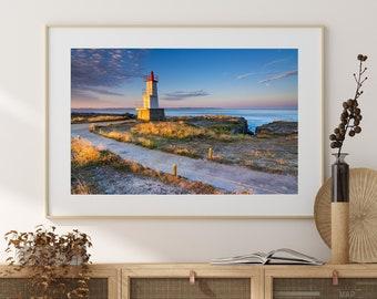 Fine Art Print of the Kerroc'h Lighthouse, Ploemeur, Morbihan, Brittany, France - Wall Art - Landscape Photography